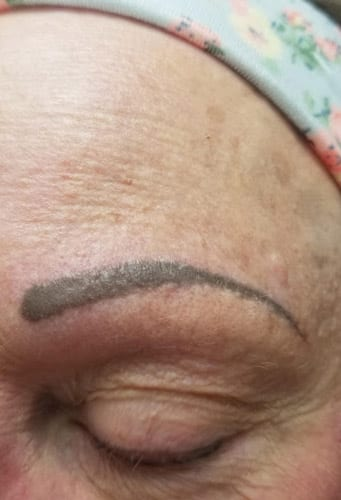 eyebrow after cosmetics in troy illinois